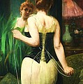 Lady Dressing by Pg Reproductions