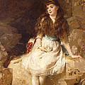 Lady Edith Amelia Ward Daughter Of The First Earl Of Dudley by George Elgar Hicks