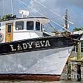 Lady Eva Shrimp Boat by Dale Powell
