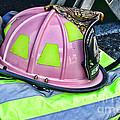 Lady Firefighter by Paul Ward