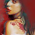 Lady Gaga Impressionist by Tony Rubino