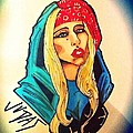 Lady Gaga Judas by Matthew Skingsley
