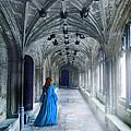 Lady In A Corridor by Jill Battaglia