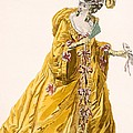 Lady In Grand Domino Dress To Wear by Pierre Thomas Le Clerc