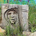 Lady In Wood by Fiona Kennard