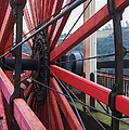 On The Isle Of Man, Lady Isabella Wheel Close Up by Marcus Dagan