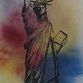 Lady Liberty by Affordable Art Halsey