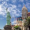 Lady Liberty In Vegas by Jenny Hudson