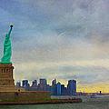 Lady Liberty by Kim Hojnacki