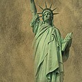 Lady Liberty New York Harbor by David Dehner