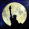 Lady Liberty Nyc - Featured In Comfortable Art Group by Ericamaxine Price