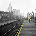 Lady On The El  by Andrew Fare