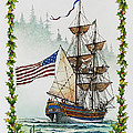 Lady Washington And Holly by James Williamson