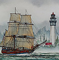 Lady Washington At Grays Harbor by James Williamson
