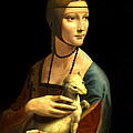 Lady With The Ermine Reproduction by Da Vinci