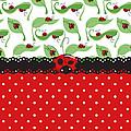 Ladybug Impression by Debra  Miller