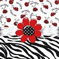 Ladybug Wild Thing by Debra  Miller