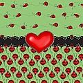 Ladybugs Hearts Desires  by Debra  Miller