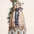 Ladys Summer Walking Gown, Engraved by Francois Louis Joseph Watteau