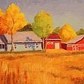 Lafayette Farm  by Ruth Soller
