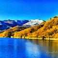 Lago Del Brugneto - Brugneto Lake by Enrico Pelos