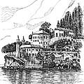 Lago Di Como-lenno - Vila Del Bilbianello by Franko Brkac