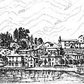 Lago Di Maggiore - Mergozzo by Franko Brkac