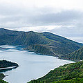 Lagoa Do Fogo Panoramic View by Marco Andrade