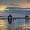 Lagoon At Sunset by Yuri Santin