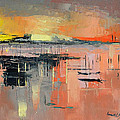 Lagoon Sunset by Said Oladejo-lawal