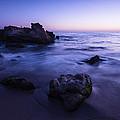 Laguna Beach Sunset In Ca by Vishwanath Bhat