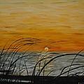 Laguna Madre Sunset by Joe Christenson