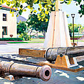 Lahaina 1812 Cannons by Don Jusko