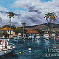 Lahaina Harbor by Darice Machel McGuire