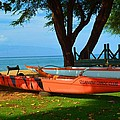 Lahina Maui Canoe Club by Richard Jenkins