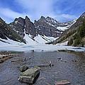 Lake Agnes by Stuart Litoff