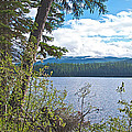Lake Alva From National Forest Campground Site-yt by Ruth Hager