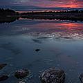 Lake Alvin Dusk by Aaron J Groen