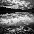 Lake Auburn Twilight by Bob Orsillo