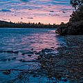Lake Bailey Sunset by Optical Playground By MP Ray