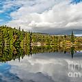 Lake Bodgynydd by Adrian Evans
