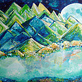 Lake By The Moon Light by Ashleigh Dyan Bayer