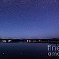 Lake Cascade Idaho By Night by Vishwanath Bhat