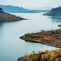 Lake Casitas In The Fog by Panoramic Images