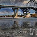 Lake Champlain Tied Arch Bridge by Adam Jewell