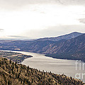Lake Chelan From Above by Andrea Goodrich