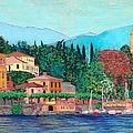 Lake Como by Allan P Friedlander