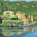 Lake Como Morning by Jane Girardot