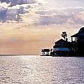 Lake Como On The Gulf Coast Sunset by Kristina Deane