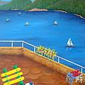 Lake Como by Pamela Allegretto